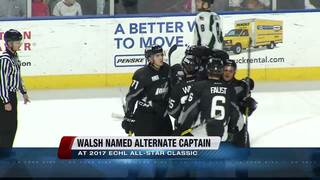 Walsh named to play in ECHL All-Star Classic