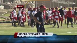 Harsin hires Kiesau as WRs Coach
