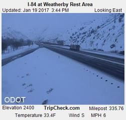 Interstate 84 reopened in eastern Oregon