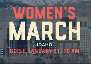 Women's March Idaho January 21 2017