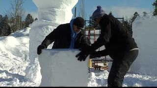 Treasure Valley artist at McCall Winter Carnival