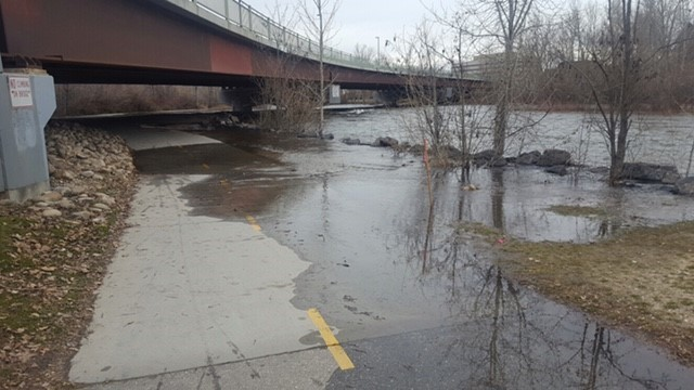 Boise River flows expected to flood Greenbelt