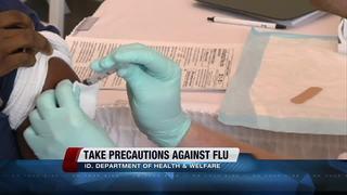 Idaho Health Department: Take flu precautions