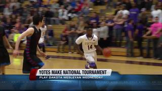 Yotes to play in National Tournament