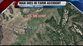 Idaho man dies in farm equipment accident