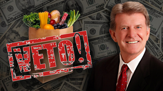 Governor Otter vetoes grocery tax repeal