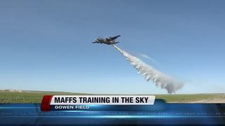 Special wildfire units train at Gowen Field