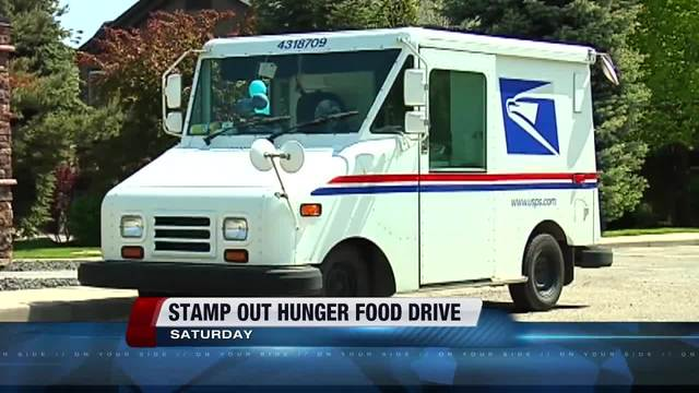 Postal Workers Hold Annual Food Drive Saturday