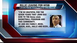 Rillie to leave BSU for UCSB