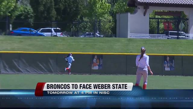 Boise State softball opens postseason at Weber State