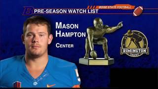 Hampton named to the Rimington Trophy Watch List