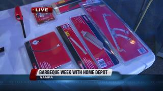 Summer grilling with Home Depot