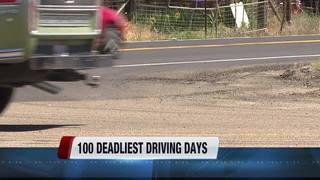 Warning: Deadliest driving days around corner