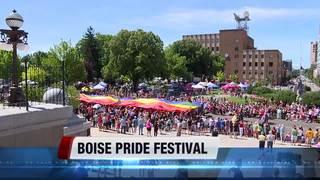 Boise Pride Fest draws big crowd