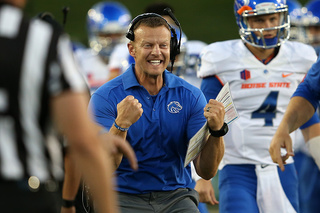 Coach Harsin noticed by Lindys Magazine