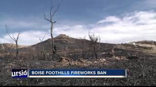 Boise Fire Alert: Fireworks ban in foothills