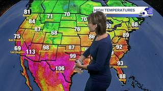 Beautiful Friday but summer sizzle returns soon