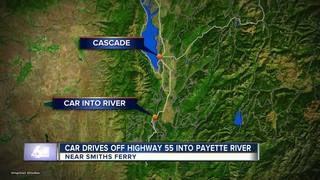 Valley County crash search and rescue attempt