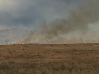 Lightning sparks fires across Elmore, Owyhee Co.