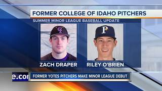 College of Idaho Minor League Baseball Update