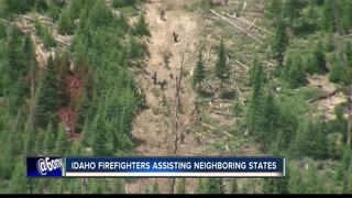 Idaho firefighters help battle southwest fires