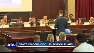 Education leaders to tweak plans before fall
