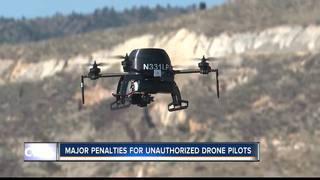 Private drones hindering firefighting efforts