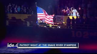 Patriot Night at Snake River Stampede