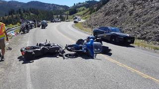 Multiple motorcyles involved in Highway 75 crash