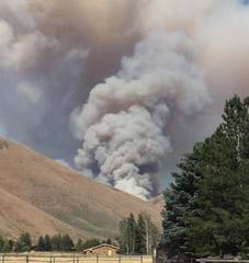Muldoon Fire grows to 2,800 acres in Blaine Co.
