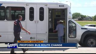 Canyon County could see changes to bus routes