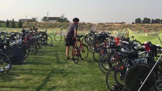 Paralyzed man set to run in Ironman Triathlon