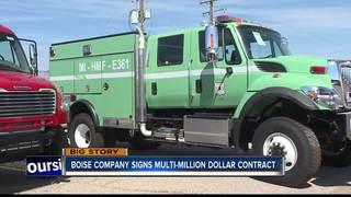 Boise fire truck maker lands deal with CA