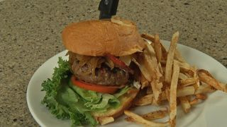 SYSCO KITCHEN: Elk Burger from the Ranch Club