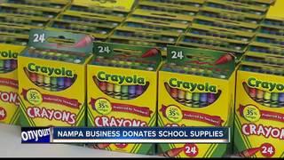 Local businessman helps kids go back to school