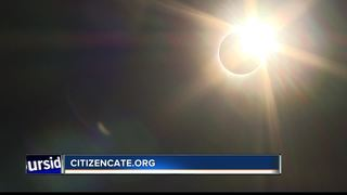 Weiser High students hold eclipse experiment