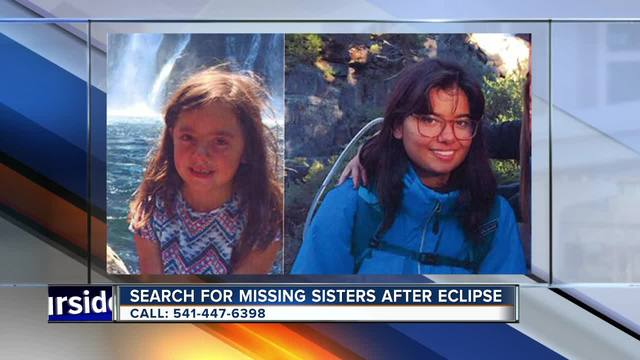 Lake Tahoe sisters reported missing at OR eclipse festival