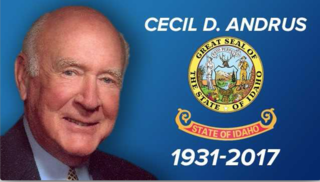 Reaction to death of former Gov. Cecil Andrus