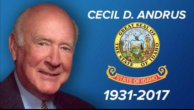Former Idaho governor Cecil Andrus passes away at 85