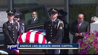 Former Idaho Gov. lying in state at Capitol