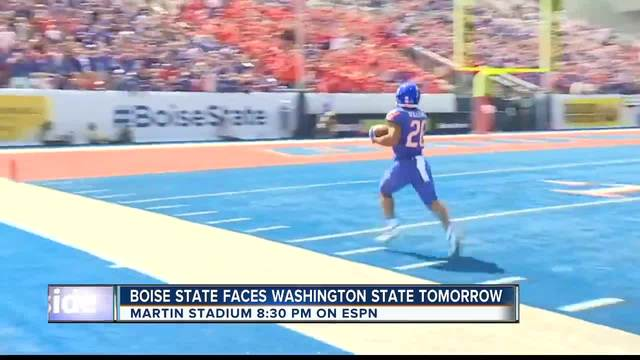 No. 20 Washington St beats Boise St 47-44 in 3 overtimes