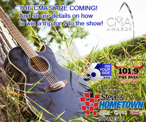 Qualify to win a trip to the CMAs