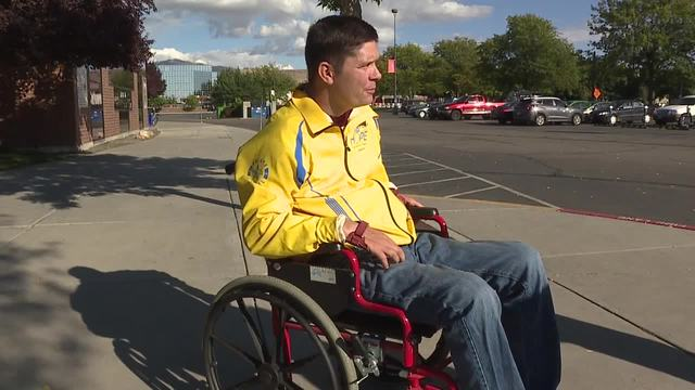Wheelchair stolen at Boise State football game