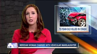 Meridian woman faces vehicular manslaughter...