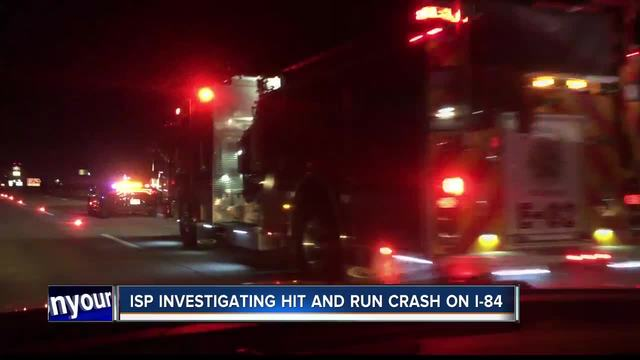 Police investigating hit-and-run crash on I-84