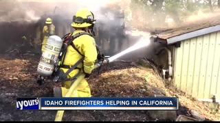Idaho sends crews, equipment to California
