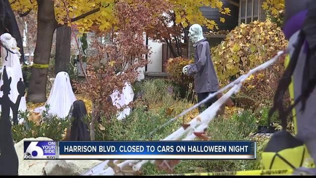 2020 Harrison Blvd Halloween Boise Idaho Boise's popular Harrison Boulevard to be shut down for Halloween event