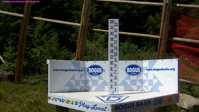 Bogus Basin Snow Stick