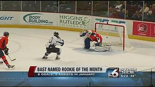 Bast earns ECHL honor... Again