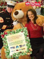 Toys for Tots sets goal to help 20,000 children